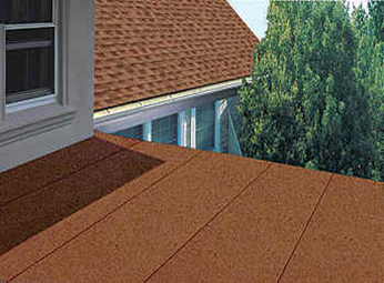 Lovely Asphalt Roll Roofing Is An Inexpensive Roofing Material Commonly Used For  Low Pitched Roofs. The Surface And Lifespan Is Comparable To That Of An  Asphalt ...