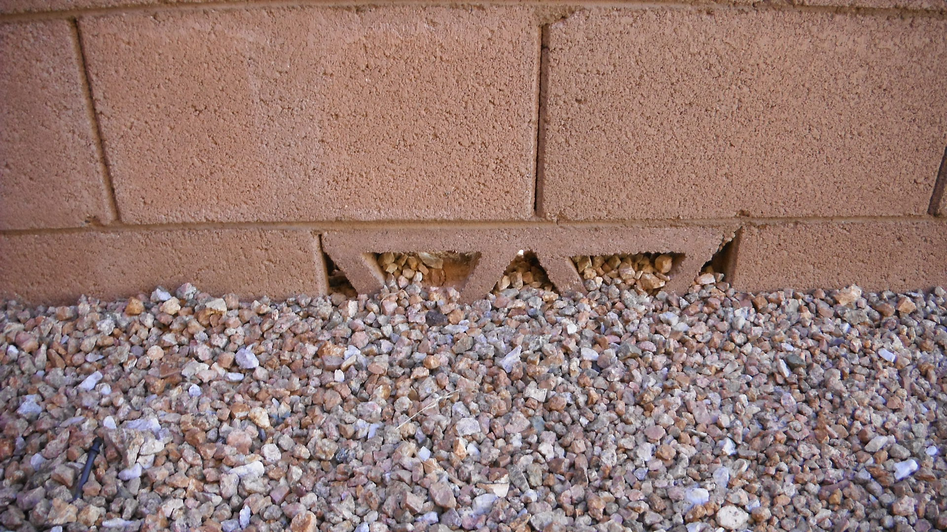 Proper grading needed around house foundation gilbert for Drainage around house